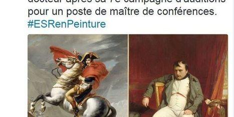 Le quotidien des universités raconté en peintures célèbres sur Twitter | Arts et FLE | Scoop.it