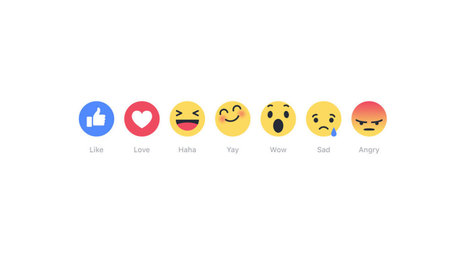 Que signifie l'arrivée des nouveaux boutons de réaction Facebook? - Blog PIGE Québec | SOCIAL MEDIA INTERACTION (bilingual) | Scoop.it