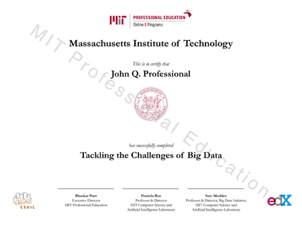 Tackling the Challenges of Big Data - MIT Professional Education | Business and Economics: E-Learning and Blended Learning | Scoop.it