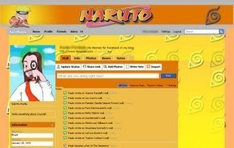 Theme for Facebook - Naruto | Themes for Facebook | Scoop.it