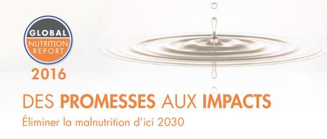 Rapport sur la nutrition mondiale 2016: Des promesses aux impacts: Éliminer la malnutrition d'ici 2030 :: IFPRI Publication | IFPRI Research | Scoop.it