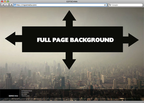 Perfect Full Page BackgroundImage | CSS-Tricks | web design | Scoop.it