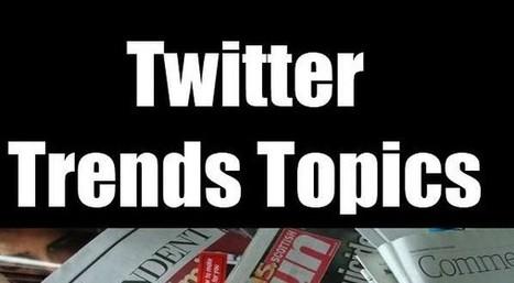 La moitié des sujets populaires sur Twitter ne sont pas couverts par les médias de masse | EcritureS - WritingZ | Scoop.it
