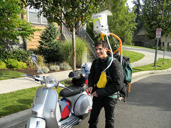 My friend Pucho: Across the country on a Vespa | Vespa Stories | Scoop.it