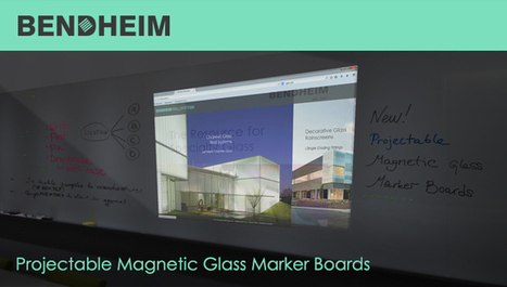 New Projectable Magnetic Glass Boards   Design & Construction   Scoop.it
