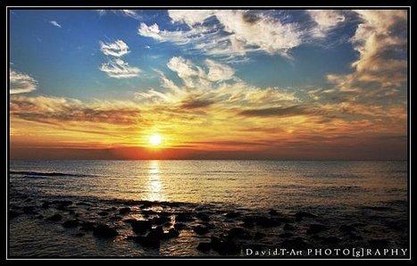 Soleil couchant autour du Bassin d'Arcachon | Bassin d'Arcachon | Scoop.it