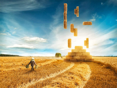Tetris Photomanipulation Tutorial | Photoshop Photo Effects Journal | Scoop.it