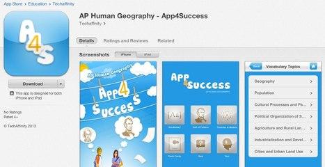 APHG Study App   AP Human GeographyNRHS   Scoop.it