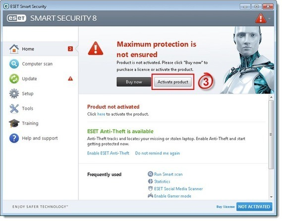 Eset smart security 8 kickass