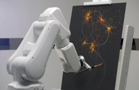 Ibis hotels to have robots paint art while they track your sleep: no, that's not creepy at all (video) | Artificial Intelligence and Robotics | Scoop.it