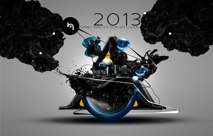3D Motion Graphics Type by H.Design - TYP3D | Digitized media | Scoop.it