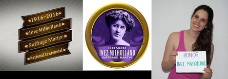 Christmas Day 100 years ago in Washington, DC: honoring Inez Milholland! | Fabulous Feminism | Scoop.it