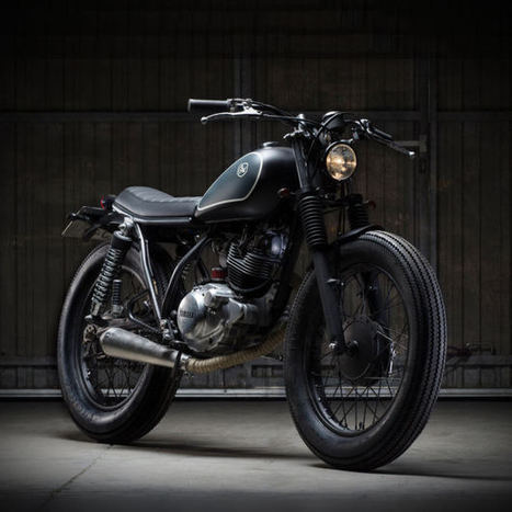 Little Baby: Cafe Racer Dreams' SR125 - Classic and Custom | vintage motos | Scoop.it