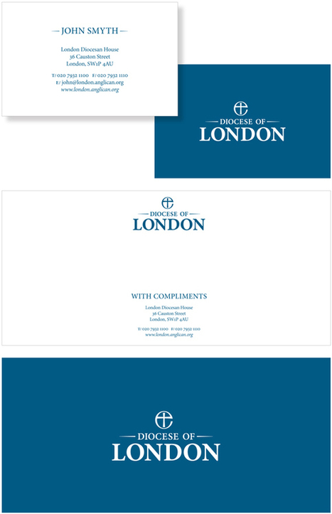 Creative Review - New branding for both the Diocese and Bishop of London | timms brand design | Scoop.it
