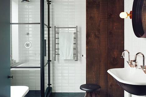 Crush   Une paroi de douche modulable au look industriel   décoration & déco   Scoop.it