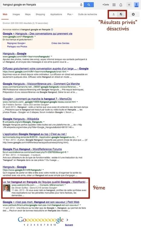 Comment booster sa visibilité sur google.fr avec Google+ | Adopter Google+ | Scoop.it