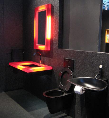 Elegant Black Bathroom Designs | 2012 Interior Design, Living Room Ideas, Home Design | Scoop.it
