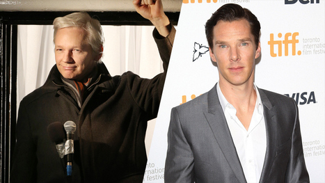 Julian Assange Writes Letter to Benedict Cumberbatch, Slams 'Wretched Film' | Filmfacts | Scoop.it