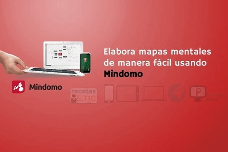 Mindomo - #RecetasTIC   Profesoronline   Scoop.it