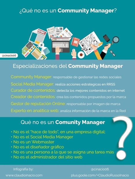 Qué no es un Comunity Manager ¿Lo tienes claro? | Web Hosting, Linux y otras Hierbas... | Scoop.it