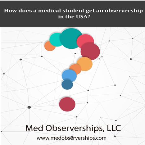 Observerships In Medical Clinical Observership Externship