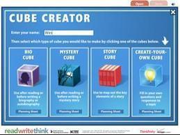 Cube Creator - ReadWriteThink | VCE Study Hints | Scoop.it