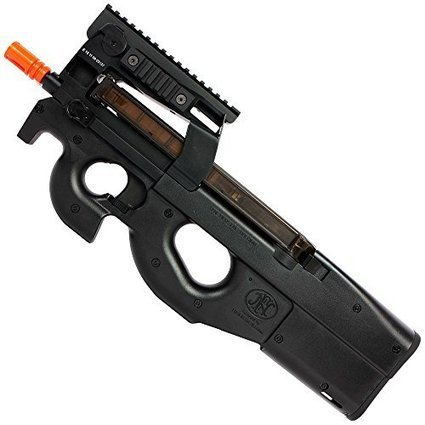 FN P90 Tactical Automatic Electric Gun with Bat