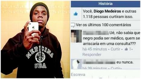 Aprovado em vestibular de medicina, jovem negro sofre racismo na internet | TecnologoDS News | Scoop.it