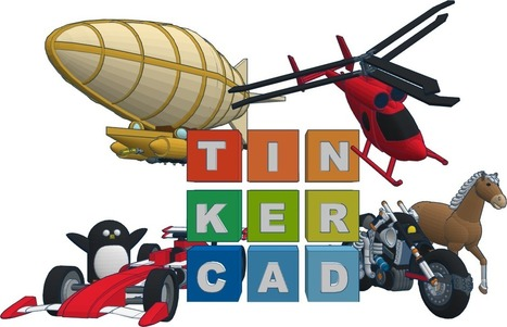 Tinkercad - Create 3D digital designs with online CAD | Integration Inspiration | Scoop.it