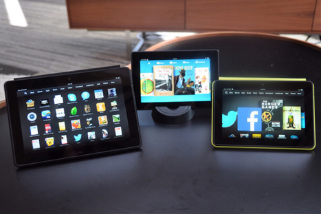 With New Kindle Fire HDX Tablets, Amazon Stays Ambitious, Goes Upscale | TIME.com | Entrepreneurship, Innovation | Scoop.it