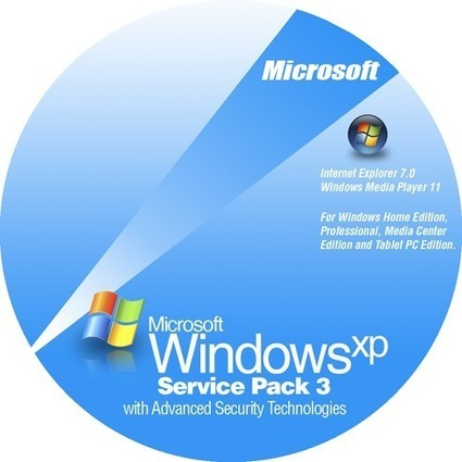download windows xp service pack 3 iso free