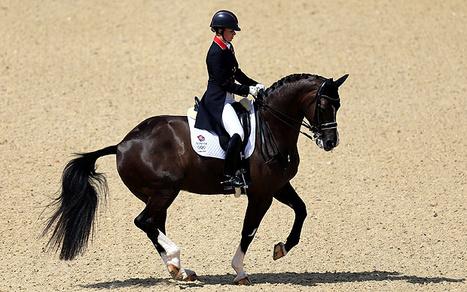 Charlotte Dujardin: des étables aux JO en 5 ans - Telegraph.co.uk | Sports équestres | Scoop.it