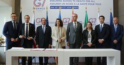 L'accord entre les membres du G7 renforce leurs engagements en faveur d'un accès à la santé pour tous.