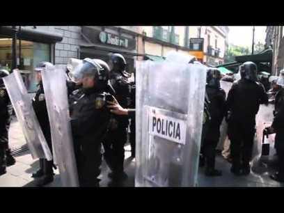 Mexique : arrestations arbitraires le jour de l'investiture de Peña Nieto - Le Club de Mediapart | Olivier Tschumi, séquestré au Mexique | Scoop.it