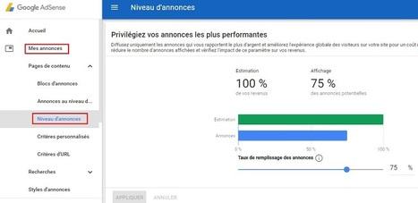 Google AdSense propose de n'afficher que les annonces les plus rémunératrices | Référencement internet | Scoop.it