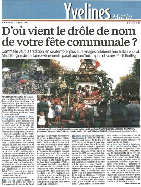 la fête de la Carotte | Croissy sur Seine | Scoop.it