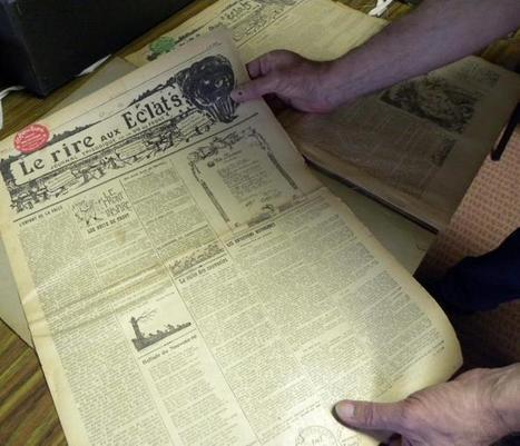 Castres. Un journal des tranchées découvert à Jean-Jaurès | Nos Racines | Scoop.it
