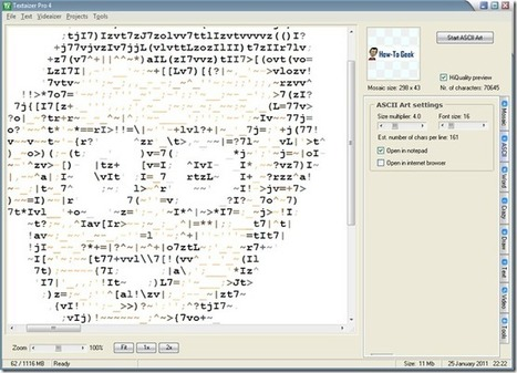 How To Create Your Own Custom ASCII Art from Any Image | ASCII Art | Scoop.it