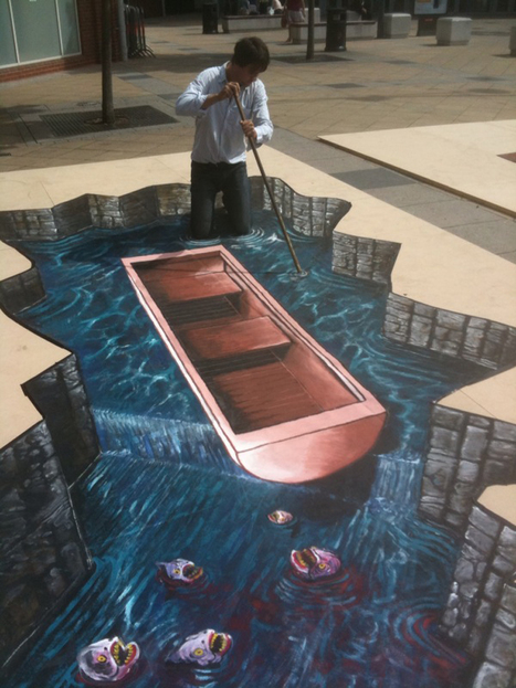 Amazing 3D Pavement Art by Joe Hill | Feature Me | Feature Me | What Surrounds You | Scoop.it