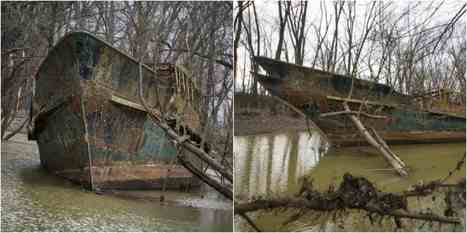 A kayaker finds a century old vessel in the Ohio River | Nereides Diary | Scoop.it