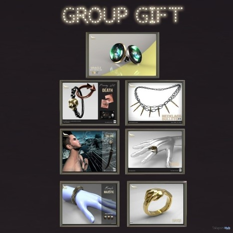 Several Jewelries Group Gift by CODEX | Teleport Hub - Second Life Freebies | Second Life Freebies | Scoop.it