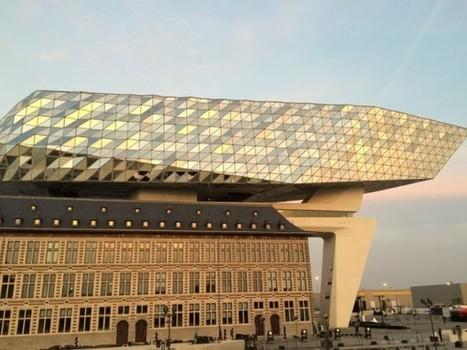 Zaha Hadid offre un diamant à la nouvelle Maison portuaire d'Anvers | Dans l'actu | Doc' ESTP | Scoop.it