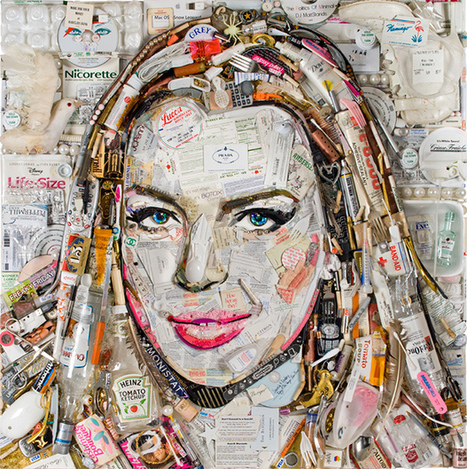 Jason Mecier Makes Art that is Trashy, Addictive and Political | Best Urban Art | Scoop.it