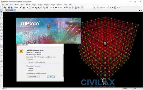 Latest SAP2000 Download: CSI SAP2000 v18 1 1 wi