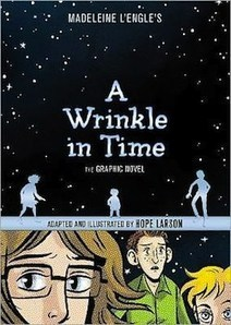 A Wrinkle in Time: The Graphic Novel (Comic Excerpt) by Madeleine L'Engle, Hope Larson | Tor.com | Ladies Making Comics | Scoop.it