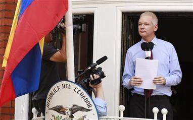 Assange berates U.S. from Ecuador Embassy | Reuters | Agora Brussels World News | Scoop.it