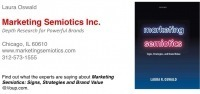 Book: Marketing Semiotics by Laura Oswald « IASS-AIS | About semiotics | Scoop.it