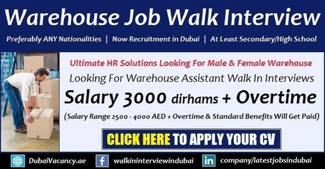 Ultimate HR Solutions Jobs For Warehouse Walk i