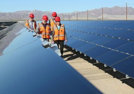 World's largest solar plant opens in California desert | Wellness Life | Scoop.it