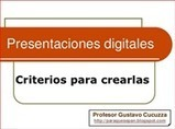 [PQS] Para que sepan: Criterios para crear presentaciones digitales (2015)   (PQS) Para que sepan   Scoop.it